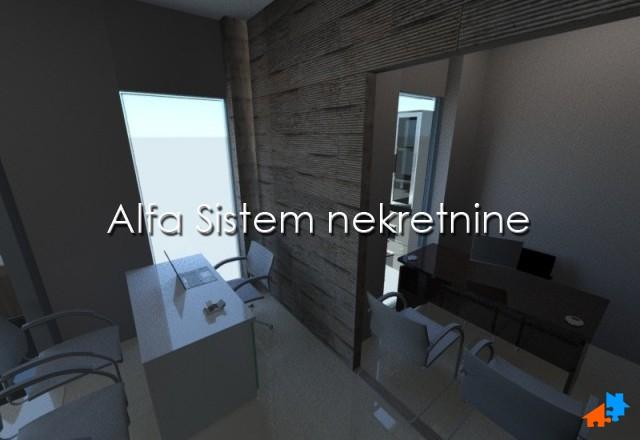 Poslovni prostor Novi Beograd Belvil 1500 EUR