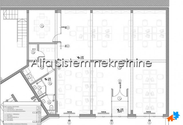Poslovni prostor Banovo brdo 2600 EUR